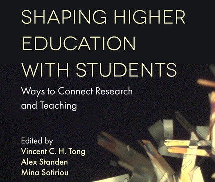 New Open Access Book | Shaping Higher Education with Students: Ways to Connect Research and Teaching