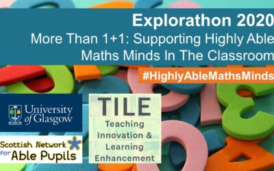 More Than 1+1: Supporting Highly Able Maths Minds In The Classroom – A Summary